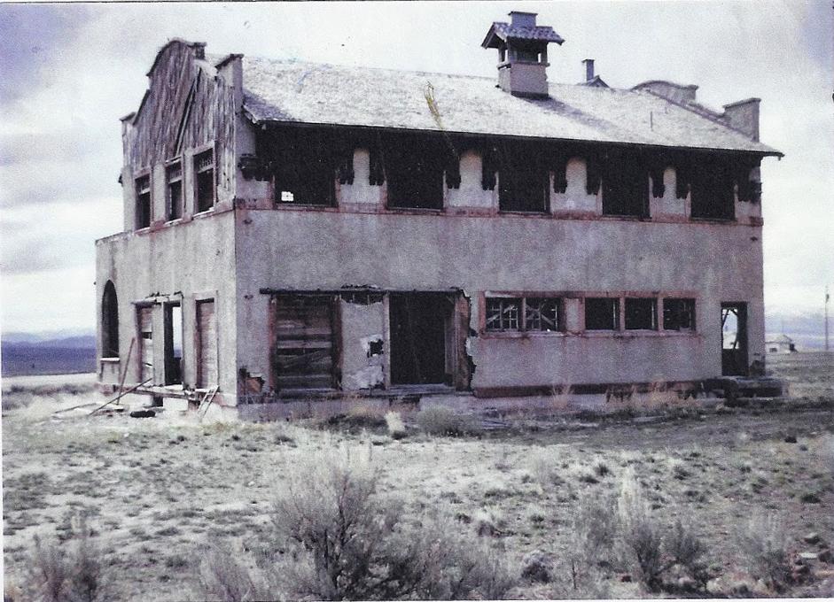 Dilapidated Strevell Hotel
