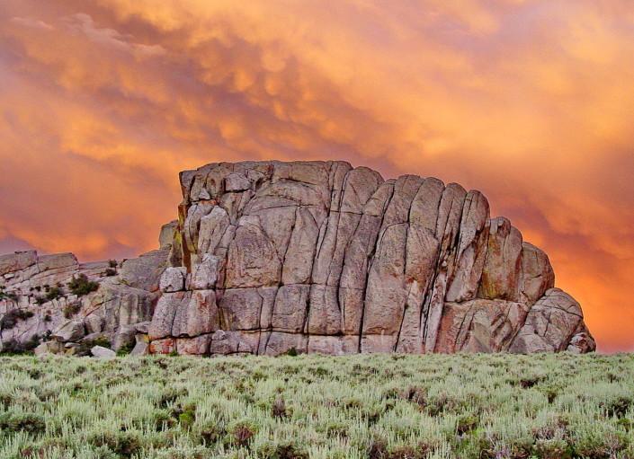 Bread Loaves, City of Rocks, Idaho